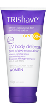 TriShave 3in1 UV Body Defense SPF30+ Post Shave Moisturising Lotion - Women